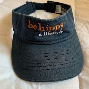 """Ouray """"be hippy"""" visor"""